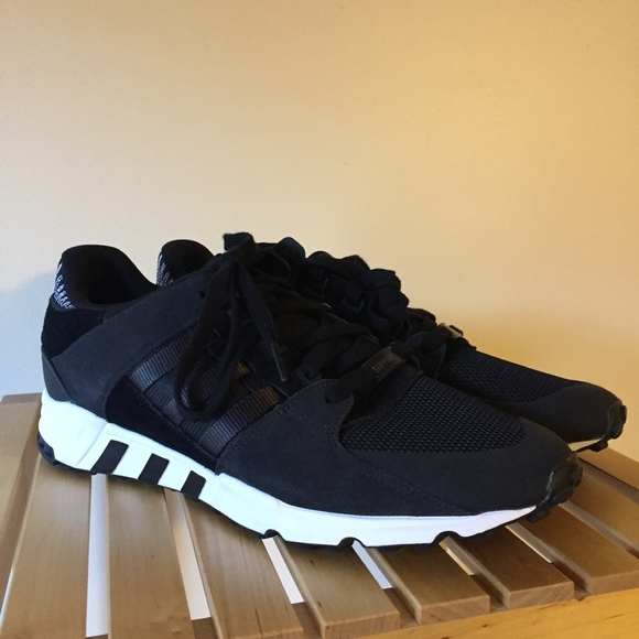 best loved 85315 7e466 Adidas EQT Support RF Black BY9623 Size 12 NEW